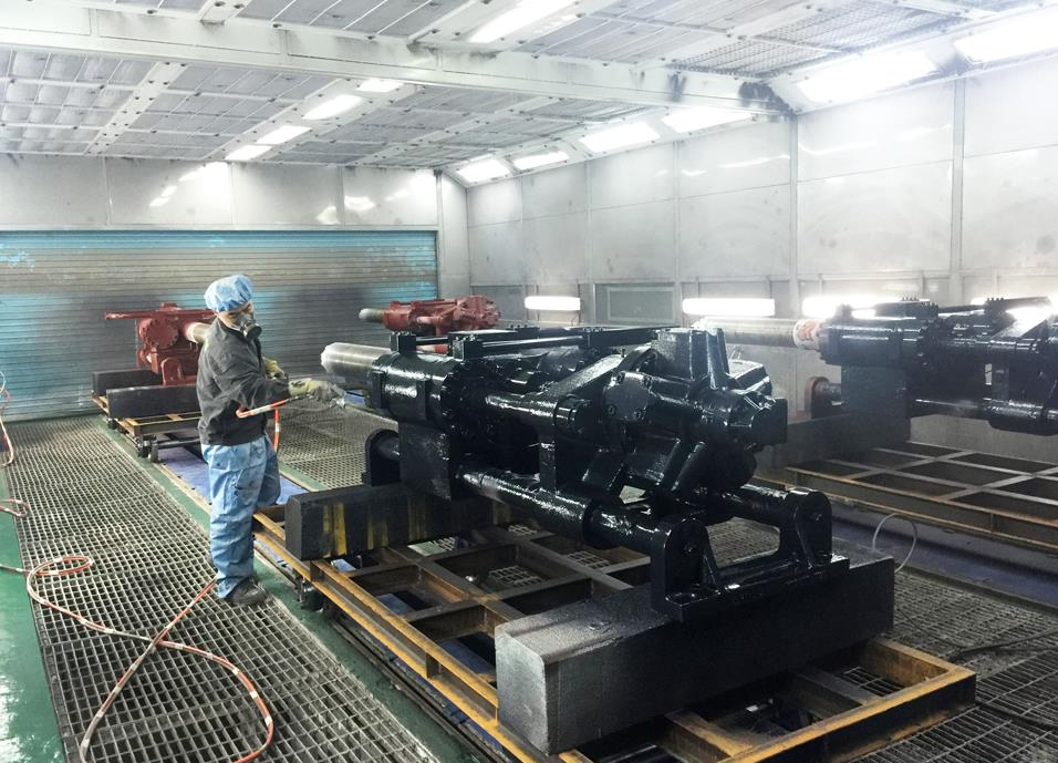 江西机械喷漆设备